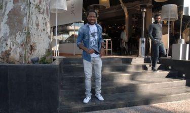 Ζαν Μακούν: Χαλαρές στιγμές στην Γλυφάδα