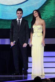 Ο Σεσκ Φάμπρεγκας στα Brit Awards