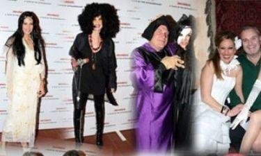 Tι ντύθηκαν οι Έλληνες celebrity τις Απόκριες;