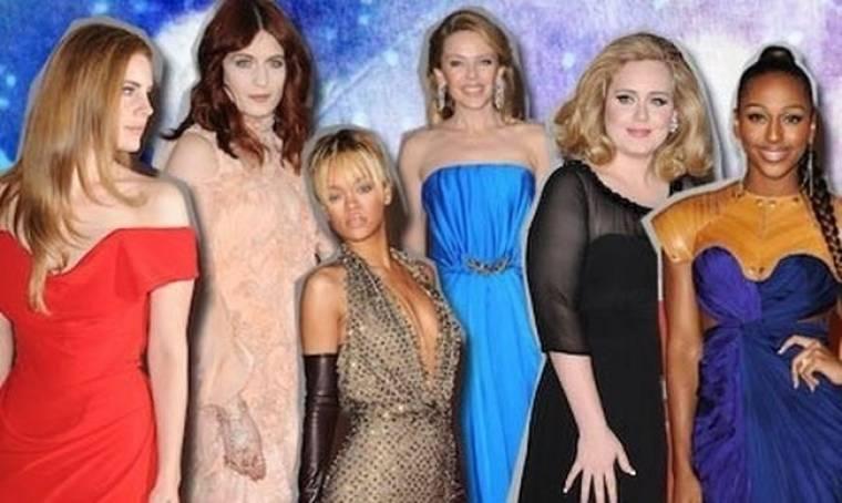 Οι κυρίες που έκλεψαν την παράσταση στα Brit Awards 2012