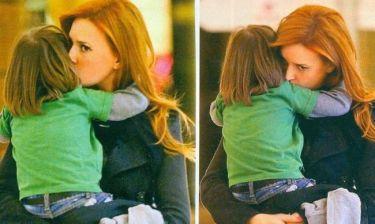 Σίσσυ Χρηστίδου: Τρυφερά φιλιά στον γιο της