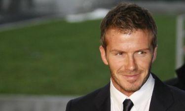 Κι όμως έχει κι ο Beckham ελαττώματα στην εξωτερική του εμφάνιση
