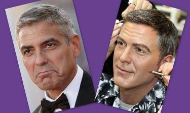 Ο George Clooney και το ομοίωμα που… δεν του μοιάζει