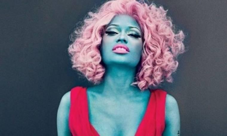 H Nicky Minaj γίνεται μπλε για τη Vogue