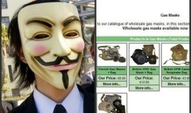 Twitter: To σχόλιο των Anonymous για τις μάσκες των Ελλήνων διαδηλωτών