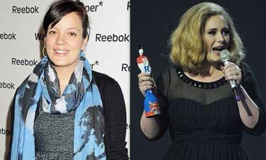 Η Lily Allen στηρίζει την Adele