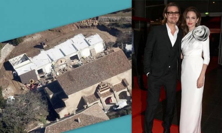 Τι χτίζουν η Angelina Jolie και ο Brad Pitt στο γαλλικό τους πύργο;