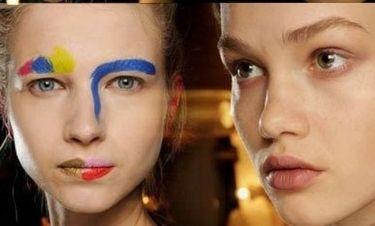 Δείτε το μακιγιάζ της Mary Katrantzou και άλλων σχεδιαστών στο London Fashion Week