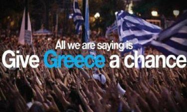 «Δώστε στην Ελλάδα μια ευκαιρία»: Μια νέα εκστρατεία στον διεθνή Τύπο