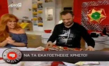 Χρήστος Φερεντίνος: Έσβησε τα κεράκια on air!