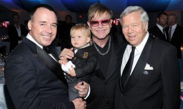 Elton John-David Furnish: Στο πάρτι τους είχαν και το γιο τους
