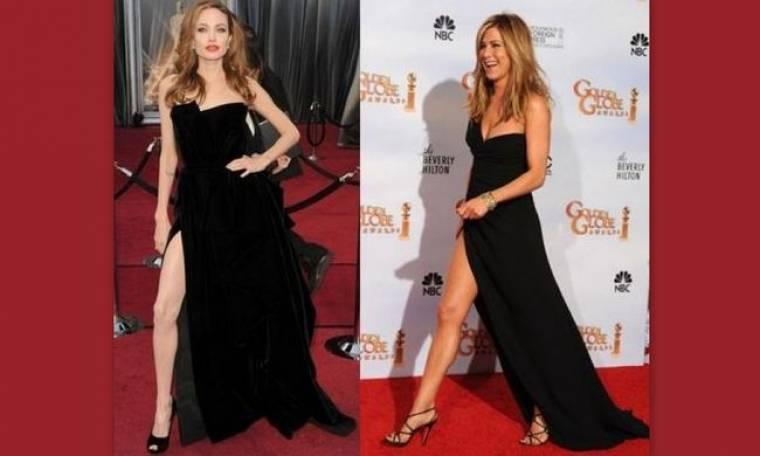 Αντέγραψε φόρεμα της Jennifer Aniston η Angelina Jolie!