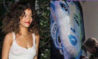 Rihanna: Αγόρασε πορτραίτο της Marilyn αξίας 100.000 λιρών