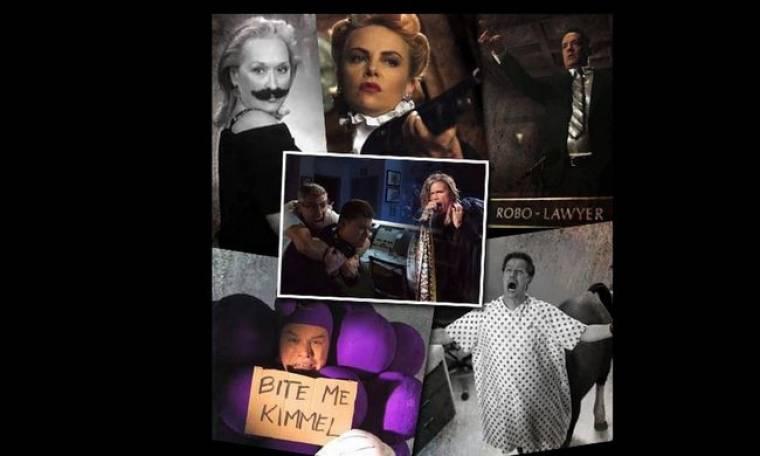 Η Meryl Streep με μουστάκι, ο Tom Hanks φονικό ρομπότ και ο Matt Damon ως ένα τσαμπί σταφύλια