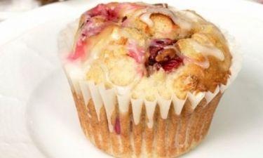 Εύκολη συνταγή για muffin με cranberry