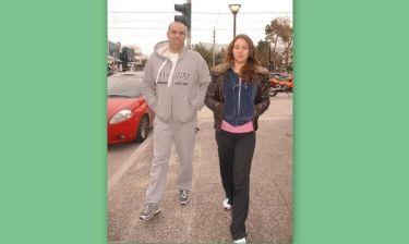 Βόλτα με την κόρη του