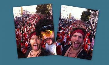 Δείτε τον Γιώργο Μανίκα να παρελαύνει στο καρναβάλι της Λεμεσού
