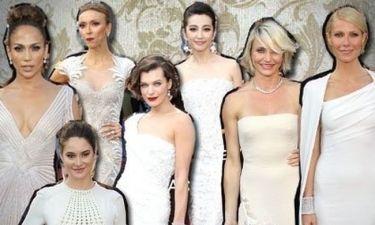 Οι διάσημες κυρίες των Oscar ντύθηκαν «χιονούλες»