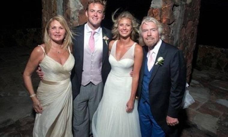 Ο Richard Branson μοιράζεται τις φωτογραφίες του γάμου της κόρης του