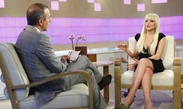 Η εξομολόγηση της Lindsay Lohan στο Today Show