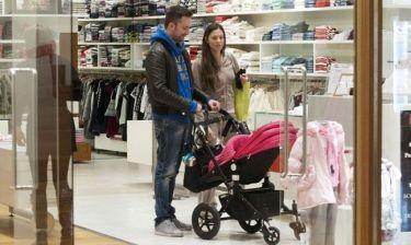Λιανός-Ανθή: Με την κόρη τους για ψώνια
