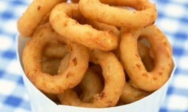 Τα τέλεια onion rings