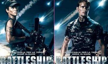 Rihanna: Τα νέα πόστερ του Battleship