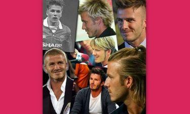 Όλα τα κουρέματα του David Beckham
