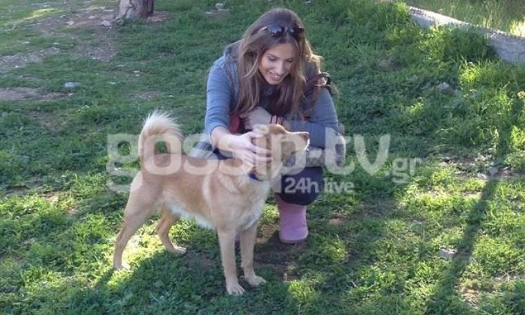 Η Ιρένε και το σκυλάκι της