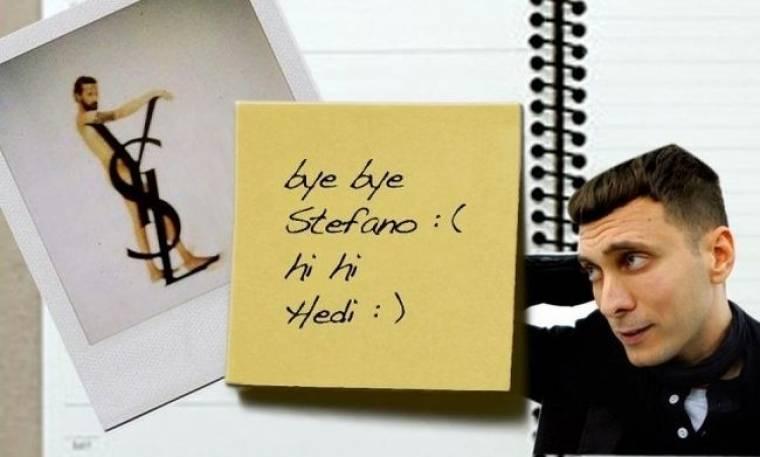 EKTAΚΤΗ ΕΠΙΚΑΙΡΟΤΗΤΑ: o Hedi Slimane στον Yves Saint Laurent