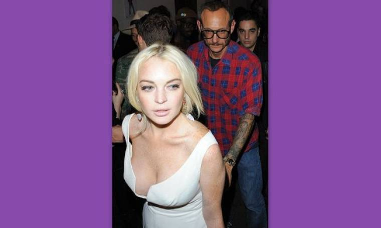 Η Lindsay Lohan έχει βάλει «στο μάτι» τον Terry Richardson