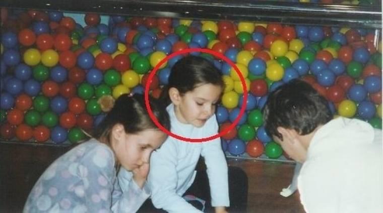 Ποιο είναι το χαριτωμένο κοριτσάκι της φωτογραφίας;