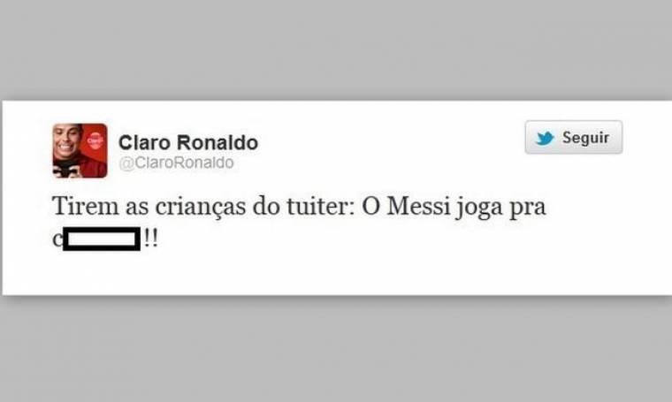 Ρονάλντο: «Ο Μέσι παίζει σαν γα..ς»