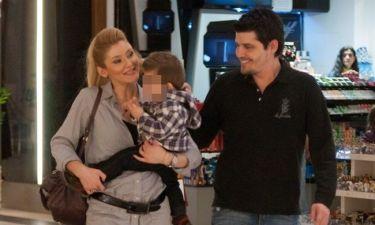 Φραγκάκη-Μάρκογλου: Οικογενειακές στιγμές με τον γιο τους