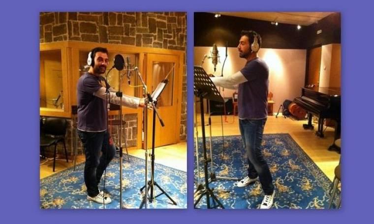 Στο στούντιο ο Αλέξανδρος Νότας