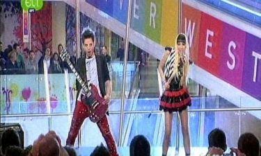 Η δυναμική εμφάνιση των «Velvet Fire» στον Ελληνικό τελικό