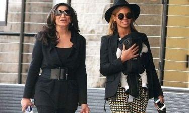 Beyonce: Βόλτα με την κόρη και τη μαμά