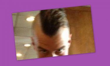 Ποιος σταρ ξύρισε το κεφάλι του;