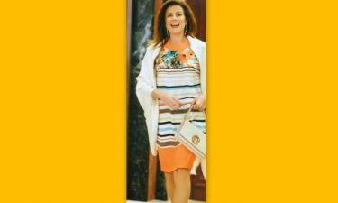 Ευγενία Μανωλίδου: Ταξίδι- αστραπή στη Θεσσαλονίκη