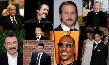 Οι μουστακαλήδες του Χόλιγουντ!