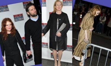 Όλοι στην πρεμιέρα του Death Of A Salesman και η Emma Stone από την πίσω πόρτα