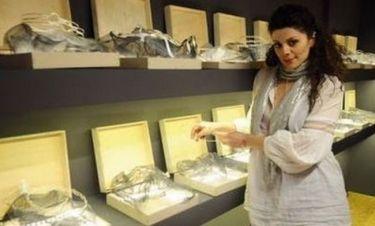 Κατερίνα Σαβράνη: Άνοιξε μαγαζί με χειροποίητα νυφικά αξεσουάρ
