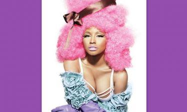 Η πολύχρωμη Nicki Minaj στο Allure