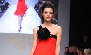 Η Άννα Δημητρίεβιτς σε ρόλο μοντέλου