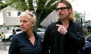 Ο Brad Pitt βγάζει βόλτα την Ellen DeGeneres στη Νέα Ορλεάνη