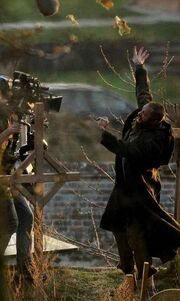 Νέες σκηνές από τον Hugh Jackman στα πλατό του Les Miserables