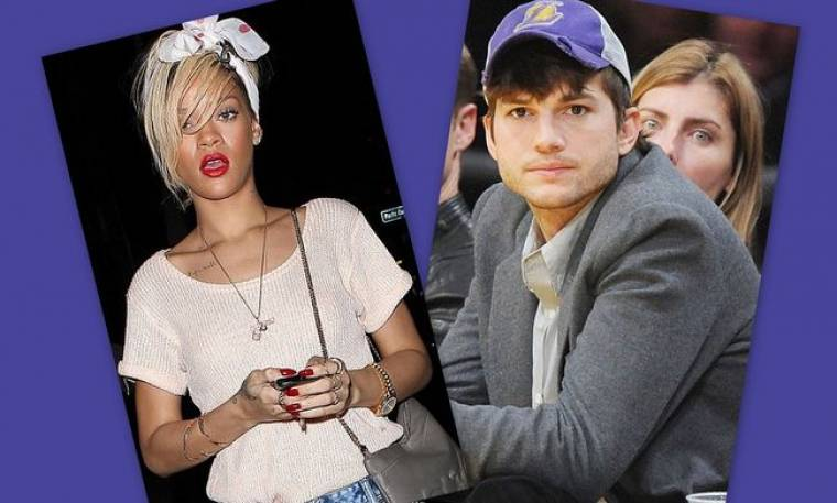 Rihanna – Ashton Kutcher: Δυο μήνες μαζί