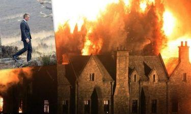 Φαντασμαγορικές εκρήξεις στα γυρίσματα του νέου James Bond! (φωτό)