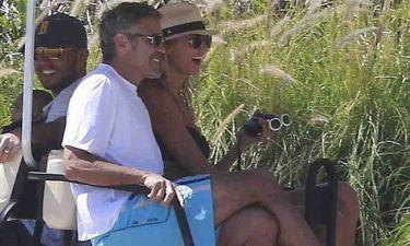 George Clooney: Μετά τη φυλακή, χαλαρές στιγμές στο Μεξικό (φωτό)