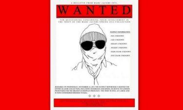 Ο Marc Jacobs κυνηγά τους κλέφτες
